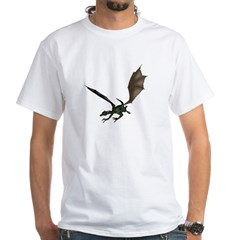 Dragon 9 White T-Shirt