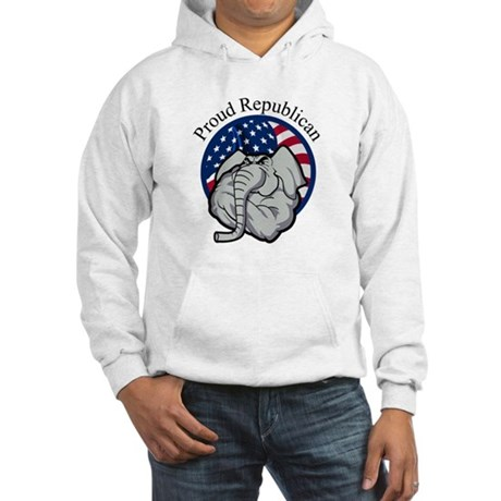 Proud Republican Hooded Sweatshirt
