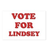 Vote for LINDSEY Postcards (Package of 8)