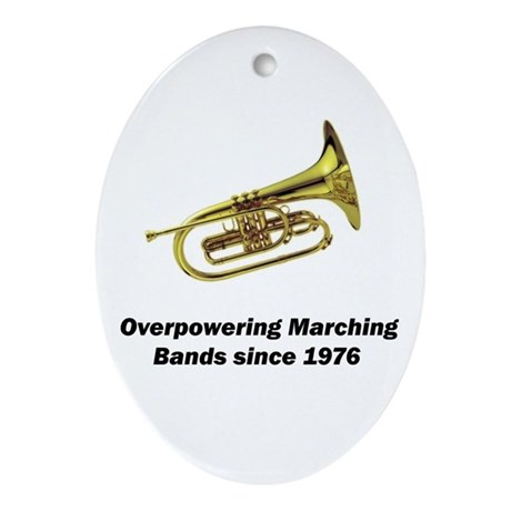 Mellophone Oval Ornament