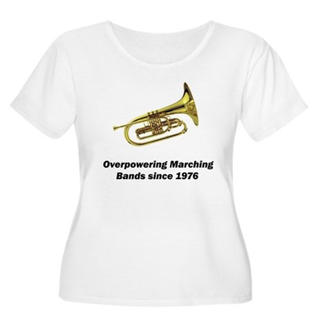 Mellophone Women's Plus Size Scoop Neck T-Shirt