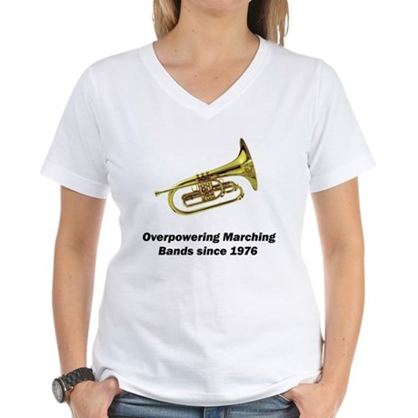 Mellophone Women's V-Neck T-Shirt