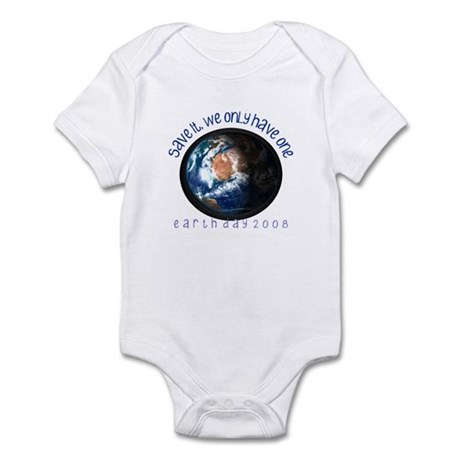 Save the Earth 08 Infant Bodysuit