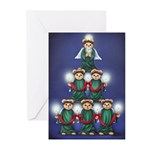 Teddy Tree Greeting Cards (Pk of 10)