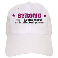 Strong (def) Baseball Cap
