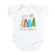 Jones Beach Surfer Infant Bodysuit