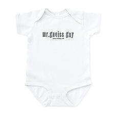 Mr Gneiss Guy Infant Bodysuit