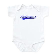 Vintage Bahamas (Blue) Onesie