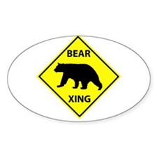 Bear Crossing Decal