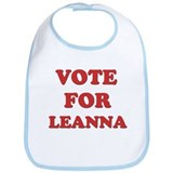 Vote for LEANNA Bib