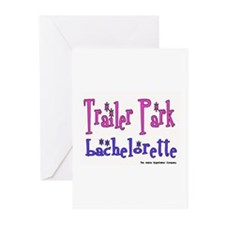 Trailer Park Bachelorette Greeting Cards (Package