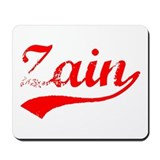 Vintage Zain (Red) Mousepad