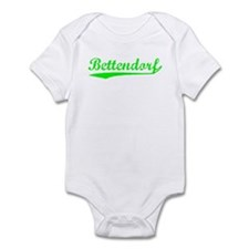 Vintage Bettendorf (Green) Infant Bodysuit