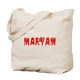 Maryam Faded (Red) Tote Bag