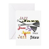 Jazz Brushes Greeting Cards (Pk of 10)