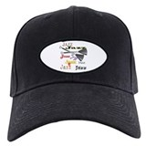 Jazz Brushes Baseball Cap