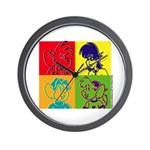 SURF RAT & SPENCER POP ART Wall Clock
