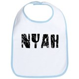Nyah Faded (Black) Bib