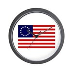 Betsy Ross Flag Wall Clock