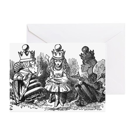 Talking Queens Greeting Cards (Pk of 10)