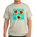 Firefly Hearts Ash Grey T-Shirt