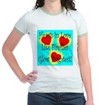 Firefly Hearts Jr. Ringer T-Shirt