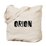 Orion Faded (Black) Tote Bag