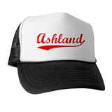 Vintage Ashland (Red) Trucker Hat