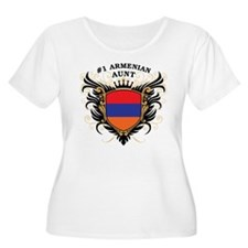 Number One Armenian Aunt T-Shirt