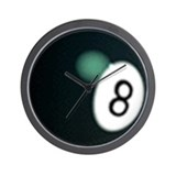 """8-Ball"" Wall Clock"