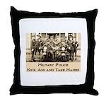 MP Throw Pillow
