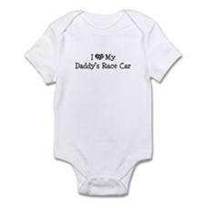 My Daddys Race Car Infant Bodysuit