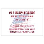 National Dispatchers Week Large Poster