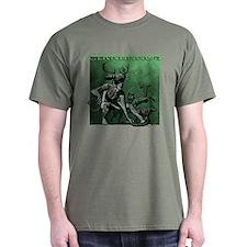Cernunnos Military Green T-Shirt