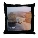 Twelve Apostles Coast Throw Pillow