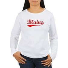 Vintage Blaine (Red) T-Shirt