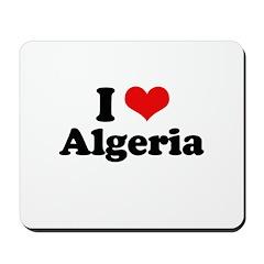 I love Algeria Mousepad