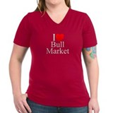 """I Love (Heart) Bull Market"" Shirt"