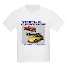 """Triple Feature"" 2-sided T-Shirt"