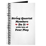 String Quartet Four Play Journal