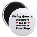 String Quartet Four Play Magnet