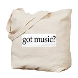 got music? Tote Bag