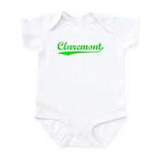 Vintage Claremont (Green) Infant Bodysuit