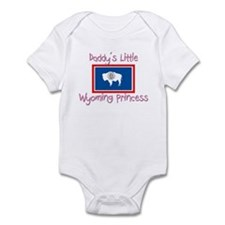 Daddy's little Wyoming Princess Infant Bodysuit