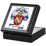 Arroyo Family Crest Keepsake Box