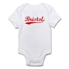 Vintage Bristol (Red) Infant Bodysuit