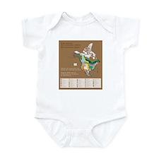 Funny Chicago border Infant Bodysuit