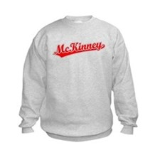 Retro McKinney (Red) Sweatshirt