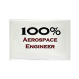 100 Percent Aerospace Engineer Rectangle Magnet (1