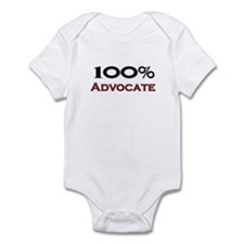 100 Percent Advocate Infant Bodysuit